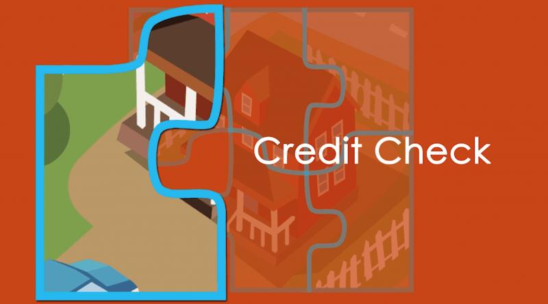 Home Mortgage Credit Check Info