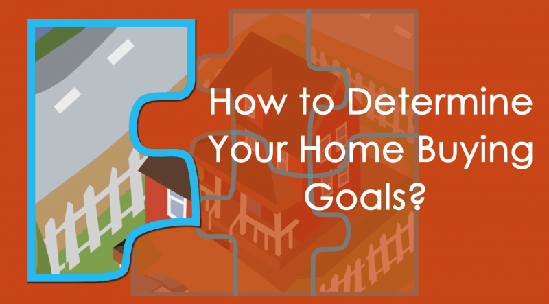 How to Determine Your Home Buying Goals